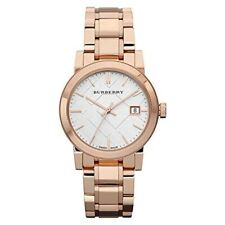 New Burberry BU9104 Heritage Rose Gold-Plated Stainless Steel Women's Watch