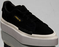 adidas Hypersleek Women's Black White Solar Red Casual Lifestyle Sneakers Shoes