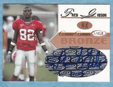 2005 Sage Football ~ Fred Gibson ~ Bulldogs ~ #A17 Bronze Autograph #'d /600