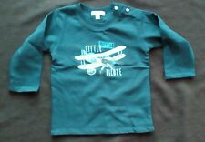 Little Pilote Long Sleeve T Shirt by Absorba - Size 6-9 Months