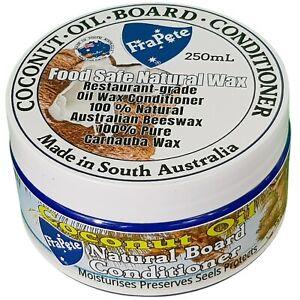 FraPete  Coconut Oil Cutting Board Conditioner Cream Oil Conditioner Wax 250 mL