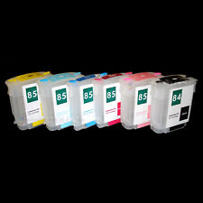 Ciss Quick Fill Cartridge 84 85 XL Designjet 30 90 130 Gp N No R For HP