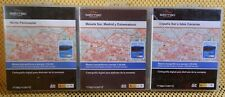 3 x Satmap Map SD Cards: Spain, North West, Central & South 1:25K Active 10 & 12