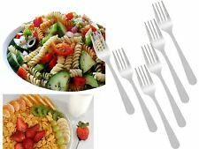 Set of 6 Stainless Steel Forks For Salad,Dessert,Fruit,Snacks,Cake Tableware