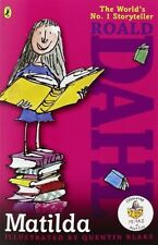 Matilda by Roald Dahl, (Paperback), Puffin Books , New, Free Shipping