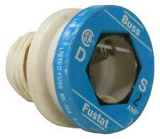 Cooper Bussmann S-2 Fustat 2A Fuse, Dual Element Edison Plug S2