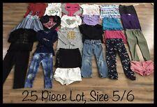 Girls Clothing Lot, 25 Items, Size 5/6, Gymboree, Pony Tails, One Step Up