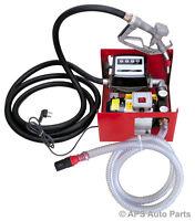 H/D Self Priming Electric Oil Pump Transfer Bio Fuel Oil Diesel 220v 60L/Min New