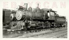 7K400I RP 1953 W T CARTER & BROTHER RAILROAD 2-6-0 ENGINE #3 CAMDEN TEXAS