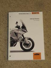 KTM 1290 Super Adventure 2016 Werkstatthandbuch Reparaturanleitung