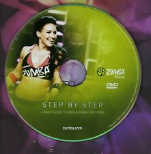 ZUMBA Dance Fitness 'Step by Step' DVD ideal for beginners, NEW, Ships Fast!