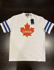 $395 Men's Authentic Dsquared2 Caten Maple Leaf T-shirt XL
