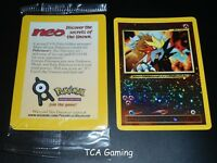 ENTEI # 34 Black Star Promo Factory SEALED Holo WOTC Pokemon Card