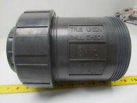 "Hayward flow control TC1300S 3"" True union safe block ball check valve PVC"