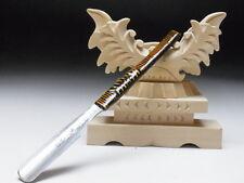 Small Blade! Shave Ready! TAMAHAGANE KIKUTERU J*apanese Straight Razor #A-263