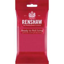 Renshaw Ready To Roll Icing Fondant Cake Regalice Sugarpaste 250g FUCHSIA PINK