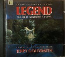 Legend Original Sundtrack Jerry Goldsmith  (CD 1992)