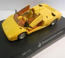 Véhicules miniatures jaunes moulé sous pression pour Lamborghini