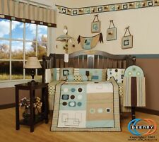 New Baby Boy Artist 13PCS CRIB BEDDING SET ***DEFECT***