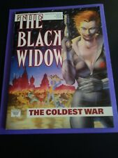 RARE NEW GRAPHIC NOVEL THE BLACK WIDOW 'THE COLDEST WAR'1990 1ST PRINTING NEW