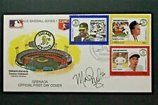 Mark McGwire Autographed Oakland Athletics 1988 Oakland CA First Day MLB Cover