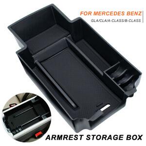 Car Accessories Armrest Storage Box For Mercedes Benz A-Class B-Class GLA CLA