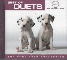 CD-BEST OF DUETS-12 ORIGINAL RECORDINGS-PURE GOLD COLLECTION-FACTORY SEALED-NEW