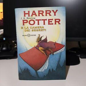 Harry Potter e La Camera Dei Segreti - Prima Edizione Primo Font Tela Rossa