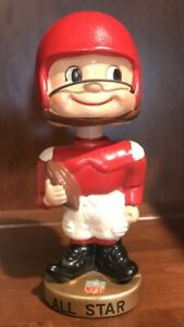1965 NFL Pro Bowl  Toes Up Bobbing Head/ Nodder Gem Mint. Very Rare.