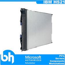 IBM HS21 Dual Intel Xeon Socket Barebones CTO Blade Server BladeSystem