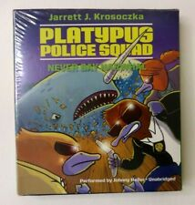 The Platypus Police Squad: Never Say Narwhal by Jarrett J. Krosoczka (2016) NEW