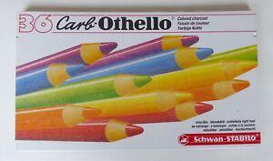 36 Stabilo CarbOthello Coloured Pastel Pencils