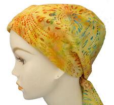 Cancer Chemo Hair Loss Scarf Turban Alopecia Head Wrap Bad Hair Day Calypso 11