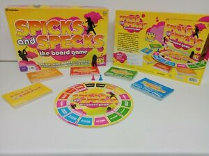Spick And Specks The Board Game 2008 Imagination ABC Hit TV Show Complete