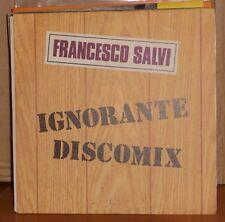 FRANCESCO SALVI - IGNORANTE DISCOMIX - SE LO SAPEVO - vinile 45 giri NUOVO 1991