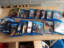 Marvel Blue Ray Job Lot 18 Films