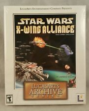 Star Wars: X-Wing Alliance -- LucasArts Archive Series (PC, 2001) BIG BOX NEW