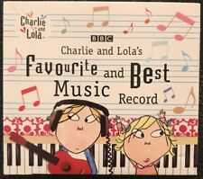 Charlie and Lola's Favourite and Best Music Record CD DIGI PACK