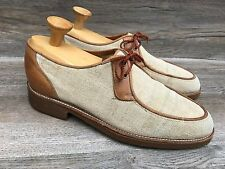 Florsheim Burlap Oxfords Men's 10D Vintage Lace Shoes 205257 Mod Hipster Brown