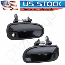 2x For Honda Civic Coupe 96-00 Front Outer Exterior Driver Passenger Door Handle