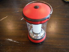 "NEW 5.75""H Promier 6 LED Red All Purpose Lantern - Includes Batteries"