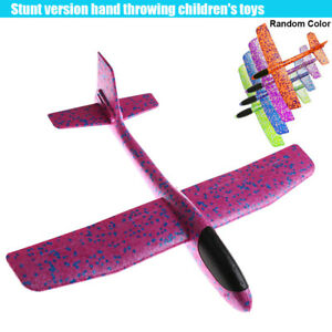EPP Foam Hand Throw Airplane Durable Launch Glider Plane Kids Toy Outdoor Garden