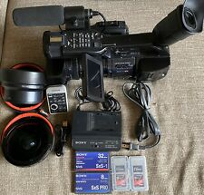 Sony PMW-EX1 Camcorder -  Black + Lots Of Accessories L👀k !!!!