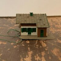 Vintage Plastic Work Shed Model Railroad N Scale