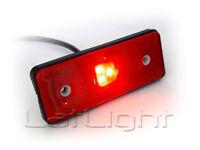 20x 3 LED Rot Begrenzungsleuchten 12V 24V Positionsleuchten LKW PKW Anhänger B1