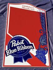 Pabst Blue Ribbon Wall Chalkboard Beer Bar Mirror Man Cave
