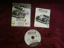 Gran Turismo 5 Academy Edition-Sony PS3 Playstation 3 PAL Reino Unido Libre Post