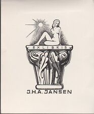 ex-libris JANSEN ( nu feminin)