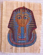 Egyptian Papyrus Painting Authentic Guarantee Certificate #6