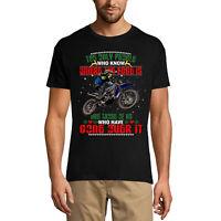 Homme T-shirt Les seules personnes qui savent où se trouve le bord sont bikers